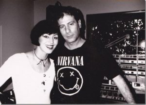 Jonathan L with Joan Jett in 1989