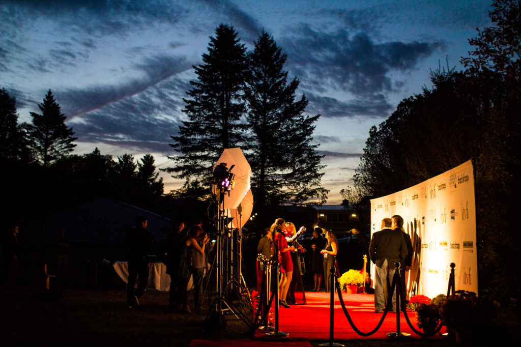 The ITVF (Independent Television Film Festival) has a unique backdrop for it's awards ceremonies in Dover, Vermont.